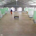RS Lapangan Jatim Rawat 16 Pasien COVID