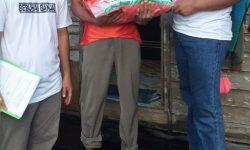 KBB-KT Berau Sudah Salurkan Beras 3,5 Ton ke Warga Kurang Mampu