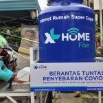 Dukung Cegah Covid-19, XL HOME Bantu Semprot Disinfektan di Perumahan