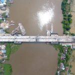 Jembatan Ogan Masuki Pengecoran Akhir, Tol Kayu Agung-Palembang Tuntas Juli 2020