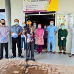 Bupati Berau Lepas Kepulangan 8 Pasien COVID-19 yang Sembuh