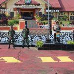 Kawal Adaptasi Kebiasaan Baru dan Pilkada 2020, TNI-Polri Nunukan Gelar Apel Sinergitas