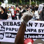 PN Balikpapan Vonis Bersalah 7 Tapol dari Papua