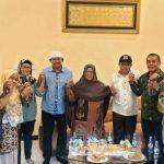 Pilkada Nunukan : Pasangan Danni dan Nasir Temui Hj Asmah Gani