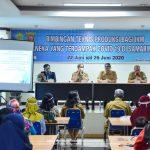Pembuatan Hand Sanitizer, Bimtek Seri Ketiga di Samarinda