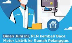 PLN Pastikan Petugas Catat Meter Datangi Rumah Pelangan Pascabayar