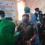 Pegawai dan Tenaga Honorer Kejari Nunukan Ikuti Rapid Test Covid-19