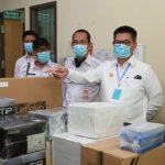Gubernur Tinjau Peralatan Laboratorium PCR di RSUD Tarakan