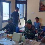 Satgas Pamtas Yonif 623/BWU Serahkan 6 Pemilik Sabu ke Polres Nunukan