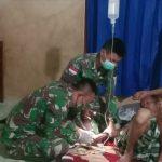 Satgas Pamtas RI-Malaysia Lakukan Pengobatan Gratis dari Rumah ke Rumah di Nunukan