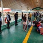 Langgar Aturan di Malaysia, 321 WNI Dipulangkan Melalui Nunukan