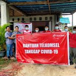 Bantu Masyarakat Hadapi Pandemi COVID-19, Telkomsel Donasikan Bantuan di Bulungan