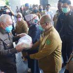 1.514 Warga Kutim di 9 Kecamatan Dapat Bantuan Pangan Pemprov Kaltim