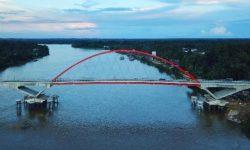 Jembatan Tumbang Samba Dukung Konektivitas Lumbung Pangan Baru di Kalteng