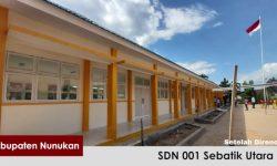 Pemerintah Selesaikan Rehabilitasi 12 Sekolah Dasar & Menengah di Perbatasan Kaltara