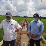 Menteri PUPR Cek Irigasi Lumbung Pangan Baru di Kalteng