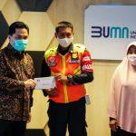 Jujur,Petugas KRL Penemu Uang Rp500 Juta Dapat Penghargaan dari Erick Thohir