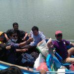 Sekolah di Tepian Sungai Sembakung Minta Pemkab Belikan Perahu