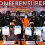 Polres Nunukan Umumkan Pengungkapan Sabu 7 Kilogram Tangkapan Satgas Pamtas