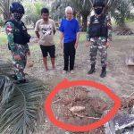 Satgas Pamtas Amankan Mortir Peninggalan Masa Konfrontasi Dengan Malaysia