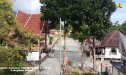 Pemerintah Mulai Penataan Kampung Ulos Samosir, Sumut