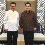 Bertemu Menteri BUMN, Irianto Minta BUMN Membantu Percepatan Pembangunan Kaltara