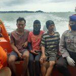 Tiga Warga Penajam yang Dicari Tim SAR Gabungan di Selat Makassar Selamat