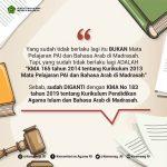 Kemenag: Tahun Pelajaran 2020/2021, Madrasah Gunakan Kurikulum PAI Baru