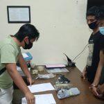 Dua Pemuda di Samarinda Ditangkap Usai Terima Paket Isi Ganja dari Medan