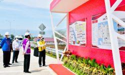 Presiden Jokowi Resmikan Jalan Tol Pertama di Provinsi Aceh