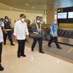 Menhub Tinjau Penerapan Protokol Kesehatan Sektor Transportasi di Bali