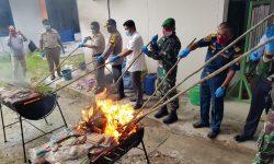 Balai Karantina Nunukan Musnahkan Makanan dan Tanaman Selundupan