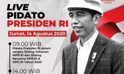 Hari Ini, Presiden Jokowi Dijadwalkan Sampaikan Pidato Pukul 09.00 dan 14.00
