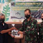 Bersama Jurnalis, Korem 091/ASN Ajak Warga Disiplin Patuhi Protokol Kesehatan