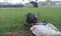 Yonif 611/AWL Tumpas Gerombolan Bersenjata di Tenggarong Seberang