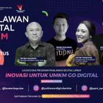 Dorong Pemanfaatan Teknologi, Program Pahlawan Digital UMKM Resmi Diluncurkan