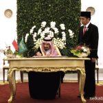 Pesiden Apresiasi Pelaksanaan Haji 1441H pada Raja Salman