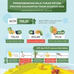 NTP Petani Kaltim Bulan Agustus Naik 1,90 Persen