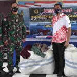 Lanal Nunukan Tembak Mesin Speedboat Penyelundup Pakaian Bekas