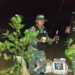 Satgas Pamtas Yonif 623/BWU Amankan Miras yang Diselundupkan Malam Hari dari Malaysia