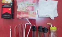 Polisi Bekuk Pak Kumis, Terduga Pengedar Sabu di Loa Kulu
