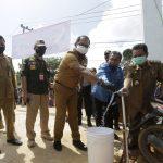99 KK di Tiga Desa Kecamatan Rantau Pulung Nikmati Air Bersih PDAM