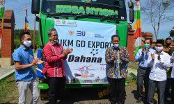 UMKM Binaan DAHANA Ekspor 20 Ton Arang ke Arab Saudi