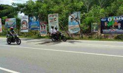 Gambar Bukan Kader dari Partai Pengusung Dilarang Dipasang di APK Paslon