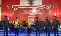 KPUD Nunukan Tetapkan Paslon Asmin Laura – Hanafiah Nomor Urut 1