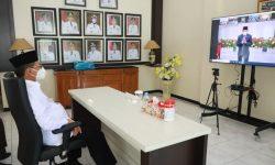 Irianto Hadiri Secara Virtual Pelantikan Pjs Gubernur Kaltara