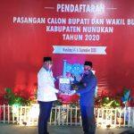 Pilkada Nunukan : Paslon Danni – Nasir Serahkan Berkas Pendaftaran ke KPUD