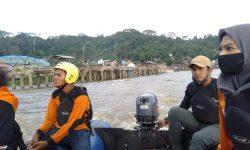 Tim SAR Belum Temukan Balita di Sei Dama yang Diduga Hanyut Saat Banjir