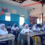 SMP Budi Luhur Masih Menumpang di Balai Pertemuan Desa