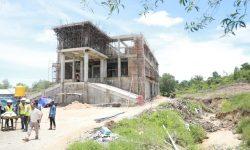 Progres Pembangunan Kantor BIN di Tarakan 78 Persen